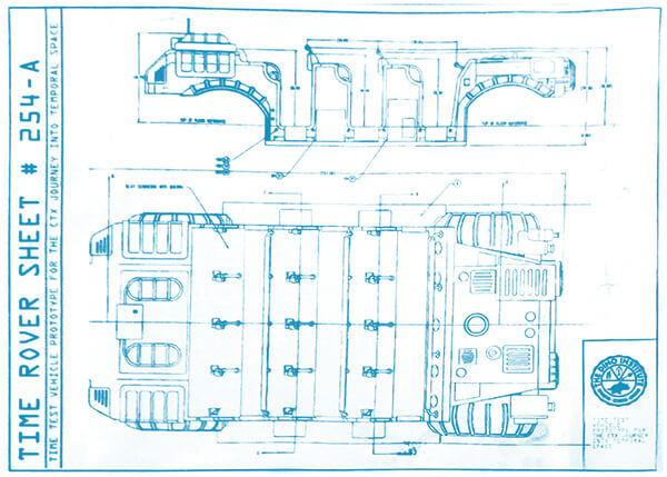 CTX Time Rover blueprints