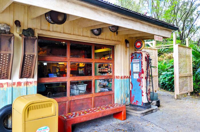 Dinoland Gas Station