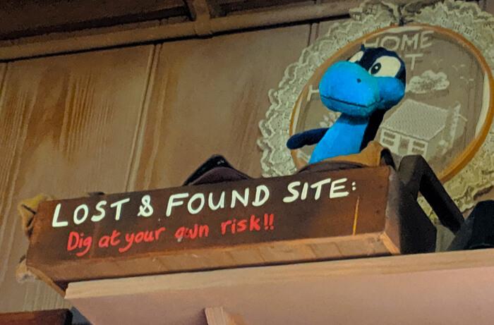 Dinoland lost and found